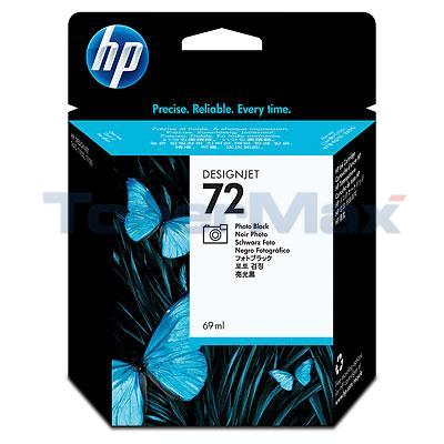 HP NO 72 INK PHOTO BLACK 69ML